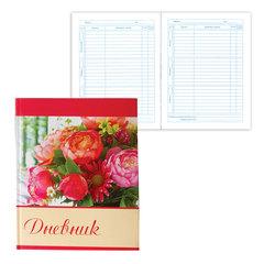 """Дневник для 5-11 классов, твердый, BRAUBERG (БРАУБЕРГ), блестки, """"Букет роз"""""""