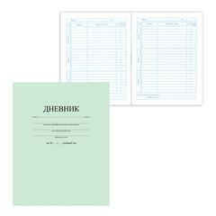 """Дневник для 1-11 классов, твердый, BRAUBERG (БРАУБЕРГ), ламинированная обложка, """"Однотонный светло-зеленый"""""""