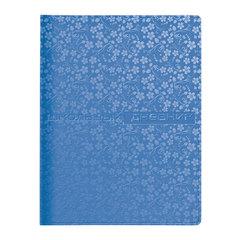 """Дневник для 1-11 классов, обложка кожзаменитель, термотиснение, АЛЬТ, """"VELVET FASHION COSMO"""" (голубой)"""