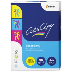 Бумага COLOR COPY, А3, 90 г/м2, 500 л., для полноцветной лазерной печати, А++, Австрия, 161% (CIE)