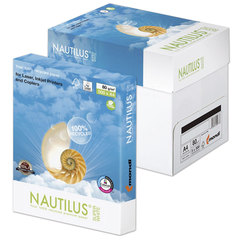 "Бумага NAUTILUS SUPER WHITE, RECYCLED, А4, 80 г/м2, 500 л., класс ""А"", Австрия, 150% (CIE)"