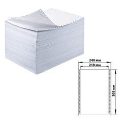 """Бумага самокопирующая с перфорацией белая, 240х305 мм (12""""), 5-и слойная, 350 комплектов, DRESCHER"""