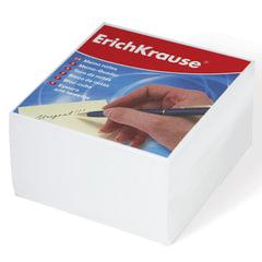 Блок для записей ERICH KRAUSE непроклеенный, 9х9х5 см, белый
