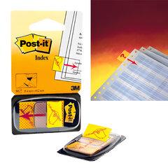 """Закладки самоклеящиеся POST-IT, 25 мм, """"Поставьте вашу подпись"""", 50 шт. (3М, США)"""
