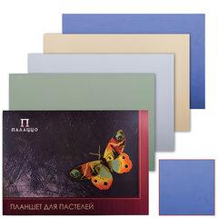 """Папка для пастели/планшет, А2, 420х594 мм, 20 л., вн. блок тонир. бумага 200 г/м2, 4 цв., """"Бабочка"""""""