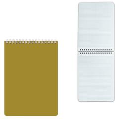 """Блокнот А5, 60 л., гребень, лакированная обложка, HATBER, """"Золото"""", 145х212 мм, 60Б5В1гр 14376"""