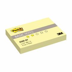 Блок самоклеящийся (стикер) POST-IT Basic, 51х76 мм, 100 л., желтый
