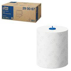 Полотенца бумажные рулонные TORK (Система H1) Matic, комплект 6 шт., Advanced, 150 м, 2-слойные, белые, 290067