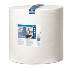 Бумага протирочная TORK (Система W1), 1000 листов в рулоне, 34х36,9 см, 2-слойная, высокой прочности, 130060