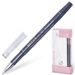 "Ручка гелевая ERICH KRAUSE ""Belle Gel"", корпус черный, узел 0,5 мм, линия 0,4 мм, черная"