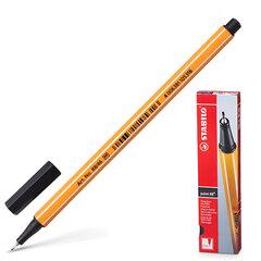 """Ручка капиллярная STABILO """"Point"""", толщина письма 0,4 мм, черная"""