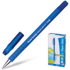 """Ручка шариковая PAPER MATE """"Flexgrip Ultra"""", корпус soft-touch, узел 1,2 мм, линия 0,8 мм, синяя"""