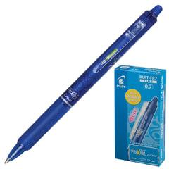 """Ручка """"Пиши-стирай"""" гелевая автоматическая PILOT """"Frixion Clicker"""", узел 0,7 мм, линия 0,35 мм, синяя"""