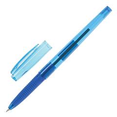 """Ручка шариковая масляная PILOT """"Super Grip G"""", узел 0,7 мм, линия 0,22 мм, резиновый упор, синяя"""
