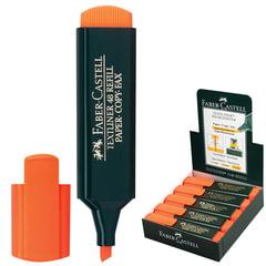 """Текстмаркер FABER-CASTELL (Германия) """"1548"""", скошеный наконечник 1-5 мм, оранжевый"""