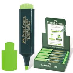 Текстмаркер FABER-CASTELL (Германия), толщина письма 1-5 мм, флуоресцентный зелёный