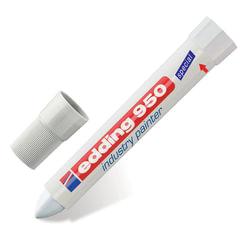 Маркер-паста для промышленной графики EDDING, 10 мм, белый