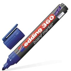 Маркер для доски EDDING, 1,5-3 мм, круглый наконечник, синий