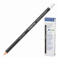 Маркер-карандаш сухой перманентный для любой поверхности, белый, 4,5 мм, STAEDTLER (Штедлер, Германия)
