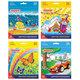 """Карандаши цветные ПИФАГОР """"Сказочный мир"""", 24 цвета, заточенные, картонная упаковка, дизайн ассорти"""
