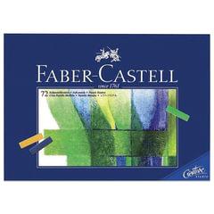"""Пастель мягкая художественная FABER-CASTELL """"Creative studio"""", 72 цвета, 1/2 стандартной длины"""