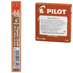 Грифель запасной PILOT PPL-5, HB, 0,5 мм, 12 штук