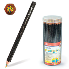 """Карандаш с многоцветным грифелем KOH-I-NOOR, 1 шт., Magic """"Neon"""", грифель 5,6 мм, заточенный"""