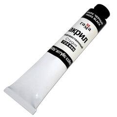 Краска акриловая художественная ГАММА, туба 46 мл, марс черный (704)