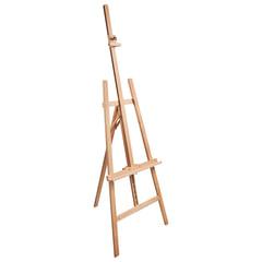 Мольберт напольный BRAUBERG, бук, угол 60°, размер 63х174(231)х68 см, высота холста 126 см