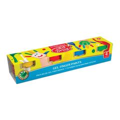 "Краски пальчиковые ERICH KRAUSE ""Artberry"", 4 цвета по 35 мл, на водной основе, картонный рукав"