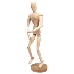 """Манекен (кукла) человека художественный """"Сонет"""", женский, дерево, высота 50 см"""