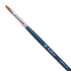 """Кисть художественная """"Байкал"""", синтетика, плоская, №4, длинная ручка"""