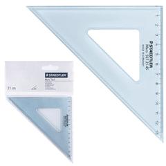 """Треугольник 45х21 см, STAEDTLER (Штедлер, Германия) """"Mars"""", пластиковый, прозрачный"""