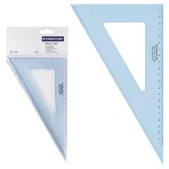 """Треугольник 30х26 см, STAEDTLER (Штедлер, Германия) """"Mars"""", пластиковый, прозрачный"""