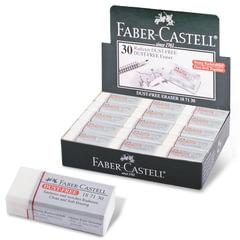 Резинка стирательная FABER-CASTELL (Германия) DUST FREE, виниловая, 41х18,5х11,5 мм