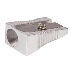 """Точилка BRAUBERG """"Style"""", металлическая клиновидная, в картонной коробке"""