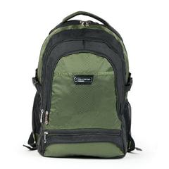 "Рюкзак для школы и офиса BRAUBERG ""StreetRacer 1"", 30 л, размер 48х34х18 см, ткань, черно-зеленый"