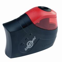 """Точилка электрическая MAPED (Франция) """"Turbo Twist"""", с контейнером, питание 4 батарейки AA"""