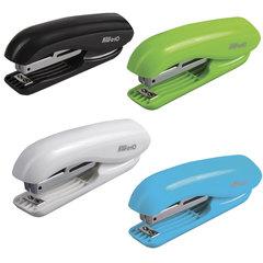 """Степлер KW-trio """"5165 Dolphin"""", №10, до 10 листов, ассорти (белый, зеленый, голубой, черный)"""