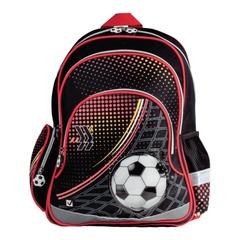 """Рюкзак BRAUBERG (БРАУБЕРГ) для учеников начальной школы, """"Футбол"""", 20 литров, 42х28х15 см"""
