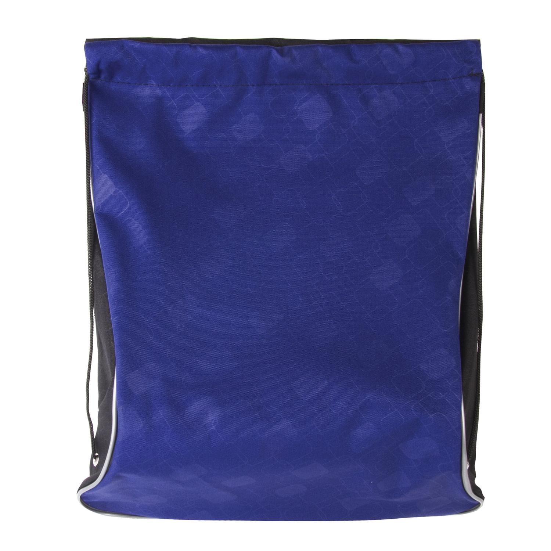 01d200d163ac Сумка для обуви BRAUBERG для мальчиков, суперплотная, увеличеннный объем,  черная/синяя, 44×37 см