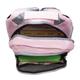 Рюкзак WENGER для старшеклассниц/студенток, розовый, серые вставки, 20 литров, 32х14х45 см