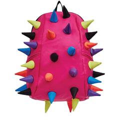 """Рюкзак MADPAX """"Rex 2 Full"""", универсальный, молодежный, 32 л, розовый, """"Цветные шипы"""", 46х35х20 см"""