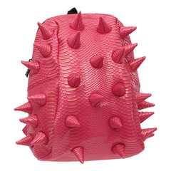 """Рюкзак MADPAX """"Gator Half"""", универсальный, молодежный, 16 л, розовый, """"Шипы"""", 36х31х15 см"""