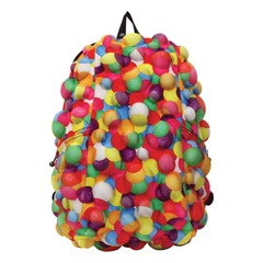 """Рюкзак MADPAX """"Bubble Full"""", универсальный, молодежный, 32 л, разноцветный, """"Пузыри"""", 46х35х20 см"""