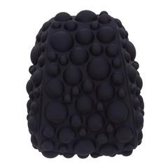 """Рюкзак MADPAX """"Bubble Half"""", универсальный, молодежный, 16 л, черный, """"Пузыри"""", 36х31х15 см"""