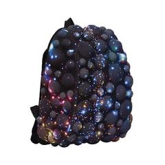 """Рюкзак MADPAX """"Bubble Half"""", универсальный, молодежный, 16 л, черно-синий, """"Пузыри"""", 36х30х15 см"""