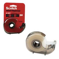 Диспенсер для клейкой ленты SCOTCH, для лент шириной до 19 мм и длиной до 33 м, дымчатый