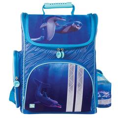 """Ранец жесткокаркасный BRAUBERG (БРАУБЕРГ), для учениц начальной школы, """"Дельфин"""", 20 литров, 38х29х16 см"""