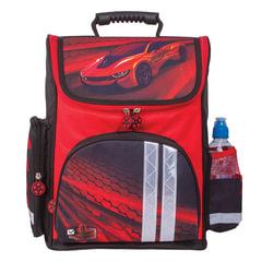 """Ранец жесткокаркасный BRAUBERG (БРАУБЕРГ), для учеников средней школы, """"Красная фурия"""", 20 литров, 38х29х16 см"""